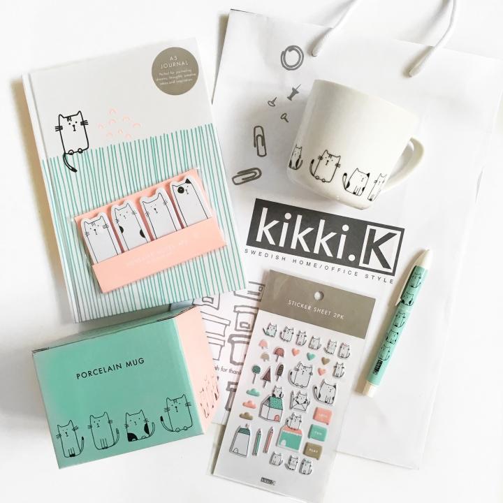 Kikki K Kitty StationaryHaul