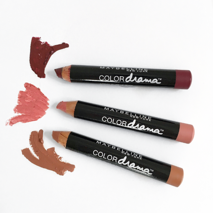 Maybelline Colour Drama Lip Pencils Review