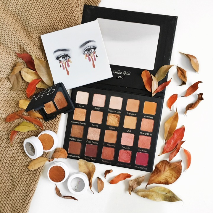 The Autumnal Eyeshadow Edit