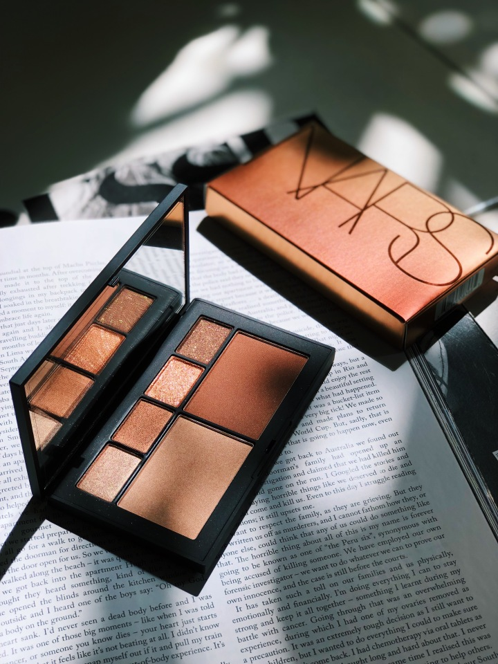 NARS Atomic Blonde Eye & Cheek Palette Review